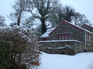 Snow at Old Oak Barn