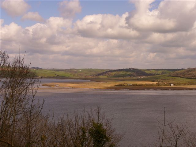 Walking in Laugharne Carmarthenshire