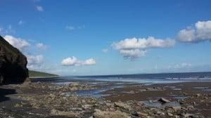 Wales Coast Path near Marros and Pendine