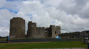 Pembroke Castle is fun for kids age 5 - 12