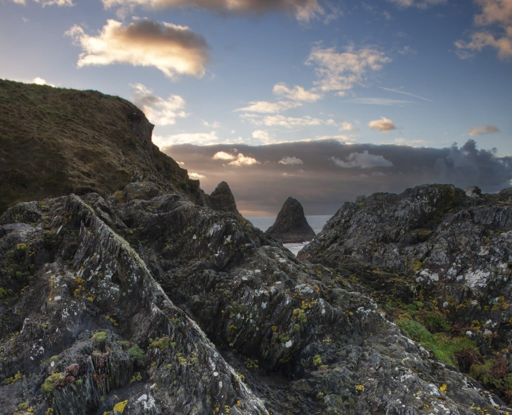 Presli Hill look down on Ceibwr Bay