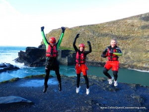 Celtic Quest Coasteering  Pembrokeshire