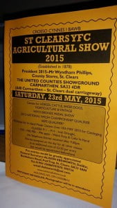 St Clears SHow in Carmarthenshire