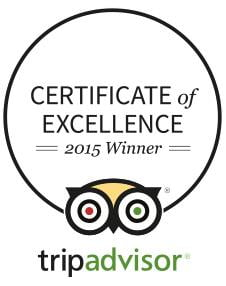 Certificate of Excellence for Old Oak Barn