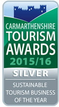 Silver award for sustainable