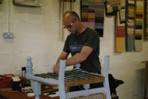Traditional Upholstery Course Wales