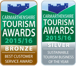 Old Oak Barn Tourism Awards Best Customer Service Award Sustainable Tourism Business of the Year