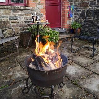 Old Oak Barn Fireplace